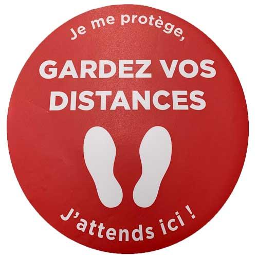 Distances pour Covid-19